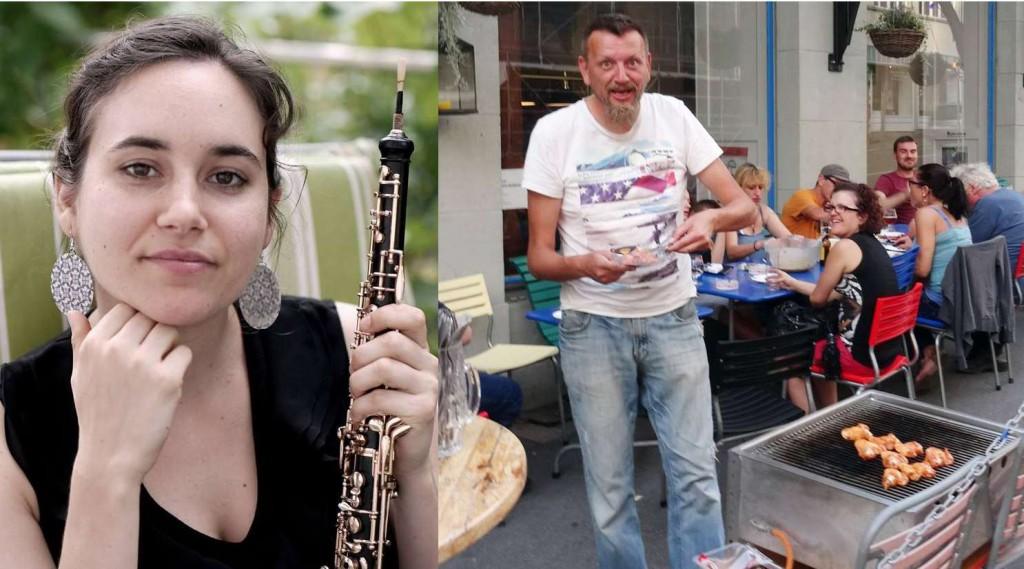 Grill und Chill mit Oboe