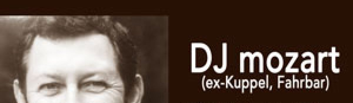 Disco mit DJ mozart